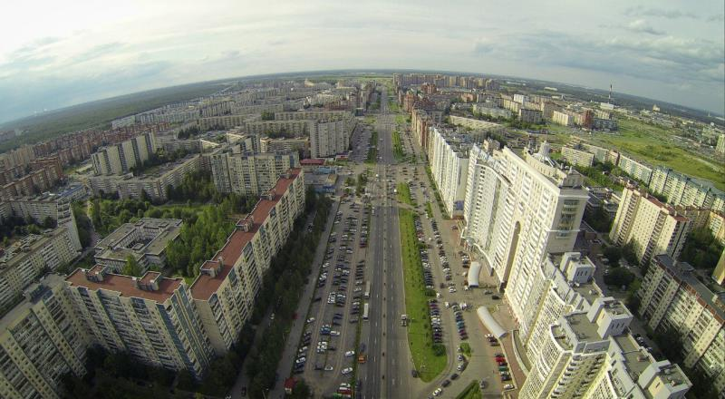 Улицы приморского района